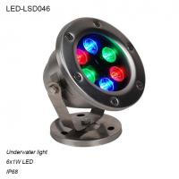Cheap 6W rotatable outdoor waterproof IP68 LED Underwater light for pool for sale