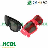 Buy cheap Plastic frame widely used Circular polarized 3D Glasses for passive cinema system from Wholesalers