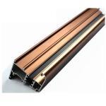 Cheap U Shaped Aluminium Profile ,  Mechanically Polished Aluminium Corner Profile Joint for sale