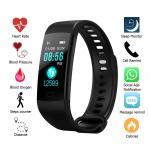 Cheap Muti Language Bluetooth Smart Bracelet , Smart Fitness Bluetooth Bracelet For Step Counter for sale
