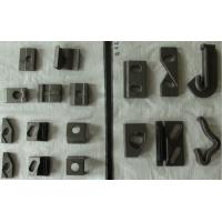 Plain Surface Carbon Steel KPO Type Rail Clip For DIN 536 And UIC 860 Standard Rail