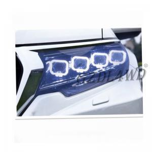 Quality Offroad Pickup Buggati Style 4x4 Driving Lights / Angel Eye Headlights For Prado wholesale
