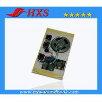 Quality Push Button Greeting card recordable sound chip wholesale