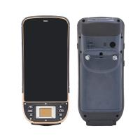 Cheap Biometric Fingerprint QR Code Mobile Computers Android Barcode scanners for sale