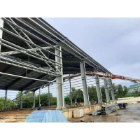 China Q355B Steel Structure Frame For High Steel Builidings on sale