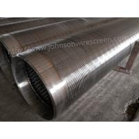 Cheap 273mm Diameter Deep Well Water Well Screen 3 Meters Length With Welded Rings for sale