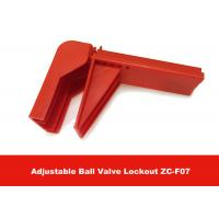 China 326G Durable Plastic Flame-retardant Material Valve Lock Out , English Labels is Available on sale
