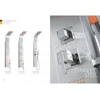 Cheap Apartments / Model Rooms Stainless Steel Shower Panel Free Standing Type for sale