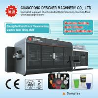 China Auto Plastic Cup Tilting Mold Thermoforming Machine on sale