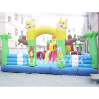 Cheap Tom And Jerry Inflatable Fun City , cartoon commercial inflatable fun world for sale