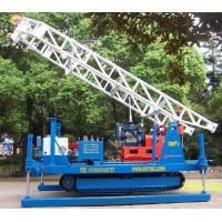 Cheap Electric Crawler Mounted Engineering geological exploration Drill Rig for sale