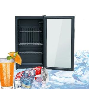 China Beverage Small Upright Hotel Countertop Display Chiller on sale