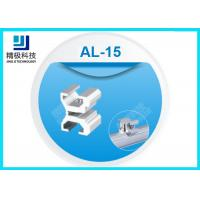 China Aluminum Board Holder Flexible Pipe Fitting 6063-T5 Joints For Workbench AL-15 on sale