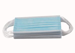 Cheap CE FDA 3ply Non Woven Triple Layer Earloop Face Mask for sale