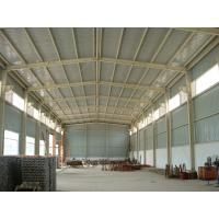 Cheap Galvanized Pre Engineering Steel Structure Warehouse Waterproof With Cladding Panel for sale