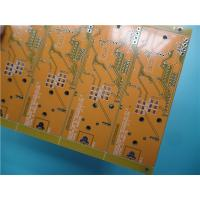Buy cheap Multilayer PCB Built On Mid-Tg FR4 With Yellow Color and HASL on Pads from wholesalers