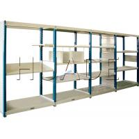 Medium Duty Long Span Shelving Boltless Storage Rack For Boxes / Cartons / Bins Storage