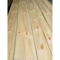 China Knotty Pine Decorative Veneers Knotty Pine Natural Veneers for Furniture Doors and Plywood Industry on sale