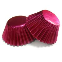 Cheap Personalized Red Decorative Cupcake Wrappers for Weddings Cake Cup  decorations for sale