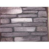 Cheap Multi - Shape Concrete Brick Veneer , Artificial Faux Stone For Outside Of House wholesale