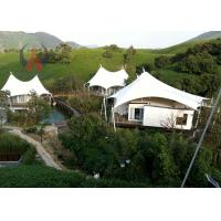 Sandwich Panel Roof Luxury Tent Hotel Permanent Marquee Structures Customized Size