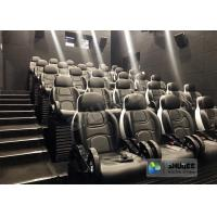 Cheap Unique 5D Cinema Simulator With Leather Seats And Low Noise Cylinder for sale
