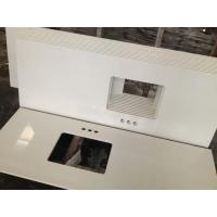 China Artificial Quartz Bathroom Vanity Tops Eco Friendly Reliable Material on sale