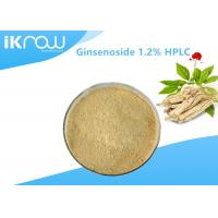 Cheap Top Quality Ginsenoside 1.2% HPLC Organic Ginseng Powder For Health for sale