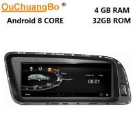 China Ouchuangbo media player GPS radio for Audi Q5 2009-2015 support BT MP3 mirror link android 8.0 OS 4+32 on sale