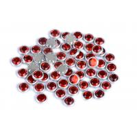 Cheap Flatback Loose Rimmed Rhinestones High Color Accuracy With Shinning Facets for sale