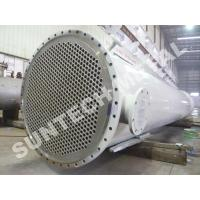Cheap Chemical Processing Equipment  Zirconium 702 Shell And Tube Heat Exchanger  for Acetic Acid for sale