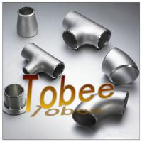 Cheap butt weld seamless/welded stainless steel pipe fitting for pipeline for sale