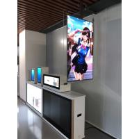 Cheap Digital 55 Inch Double Sided Signage Android 7.1 Quad Core Ceiling LCD Advertising Display for sale