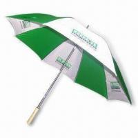 Cheap 30 Inches Golf Umbrella with Double Ribs for sale