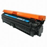 Cheap CE271A Compatible Color Toner Cartridge for HP Color LaserJet CP5525n/5525dn/5525xh/CP5525n  for sale