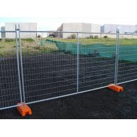 Cheap Hot Dipped Galvanized Temporary Fence Convenient Installation for Construction Site for sale