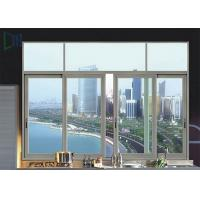 Cheap Powder Coating Aluminium Sliding Windows Customized Size Design Sound Insulation wholesale