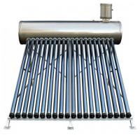 Cheap All stainless steel 304 non pressure compact solar water heater with solar glass tubes for sale