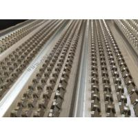 Cheap 21mm Height Galvanized High Ribbed Formwork 0.45mm Width For Engineering for sale