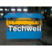 Cheap Iron Metal Roof Sheet Roll Forming Machine With Manual Or Hydraulic Uncoiler for sale