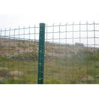 Cheap Dutch / Euro Wire Metal Fence Pvc Coated  Low Carbon Steel Corrosion Resistance for sale