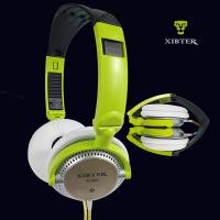 Cheap Xibter S 200 Foldable 3.5mm Headset With Remote Microphone Students Colorful Cellphone Headphone Girl Women Gift for sale