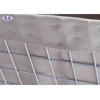 Cheap Sand and earth filled Military Hesco Barriers Welded Gabion With Geotextile Lined for sale