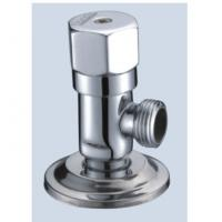 Cheap Wall-Mounted Connecting Interface Brass Angle Valve With Slow-Open Cartridge for sale