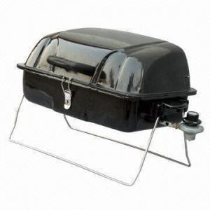 Cheap Portable Camping Butane Gas/Brinkmann/Charmglow BBQ Grill, Sized 51 x 39 x 38cm for sale