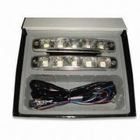 Cheap LED Daytime Running Light with 9 to 32V DC Voltage, Housing made of Aluminum for sale