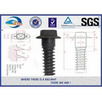 Cheap Coach Railway Sleeper Screws Square Head Black Oxide Screws,Coach screw for sale