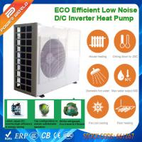 Cheap Air to Water Cooling Heating High COP Heat Pump with Dual rotary DC Inverter Compressor for sale