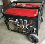 Cheap Civilian Portable Gas Welder Generator With AC 5.0Kw Auxiliary Output Power for sale