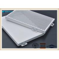 Cheap Fire Resistant Custom Aluminum Plate Perforated Aluminum Panels Erosion Resistant for sale